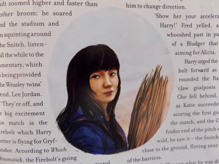 Image result for prisoner of azkaban illustrated cho chang