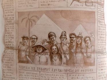 Image result for prisoner of azkaban illustrated weasleys